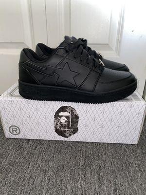 Bape Sta Low Black for Sale in Boston, MA