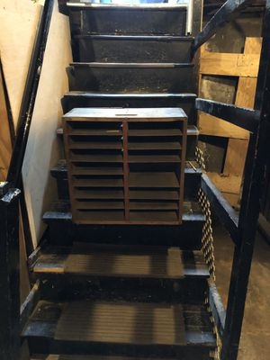 Wood Paper Organizer for Sale in Newton, MA