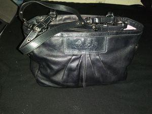 Coach black tote for Sale in Riverside, CA