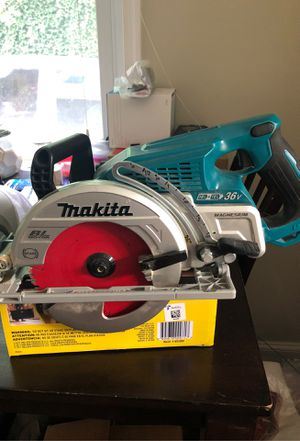 Makita Rear Handle Circular saw for Sale in Rockville, MD