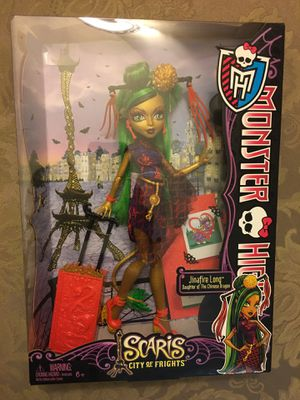 Monster high doll Jinafire long scaris city of frights for Sale in Wichita, KS