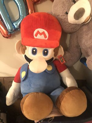 Super Mario - Official Nintendo licensed - New with tag for Sale in Madison Heights, MI