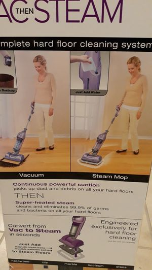Shark 2 in 1 Vac then Steam for Sale in Tracy, CA