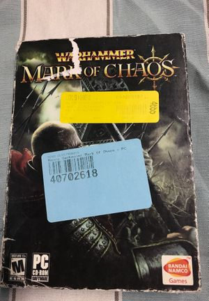 Warhammer Mark of the chaos for Sale in Waukegan, IL