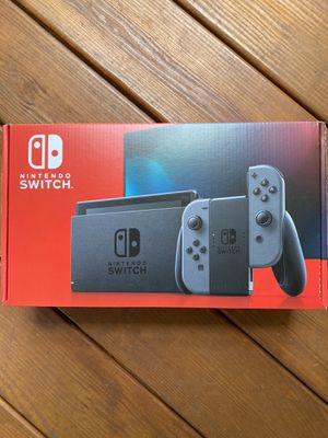 Nintendo Switch (Gray Joy-Con) — NEW for Sale in Charlotte, NC