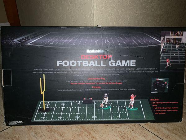 Berkshire portable travel Desktop football game trailer camper