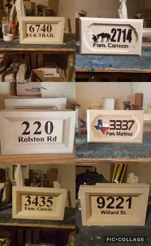 Se vende placas para buzones y casa for Sale in Dallas, TX