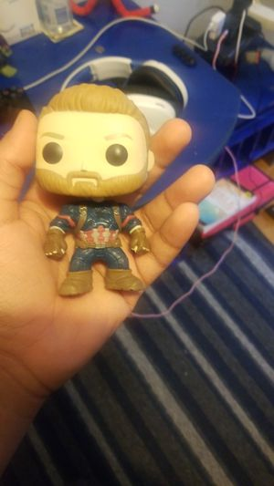Marvel Infinty War Captain America Funkopop for Sale in Lowell, MA