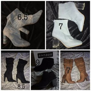 Boot women's booties for Sale in Calexico, CA