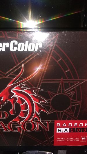 Power Color RX 580 4 GB GPU for Sale in Gulfport, FL