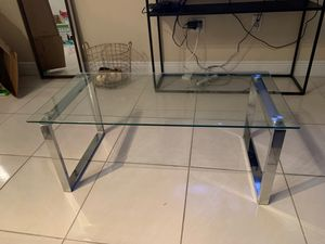 Crystal coffee table for Sale in Pinecrest, FL