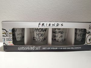 friends shot glass for Sale in Niles, IL