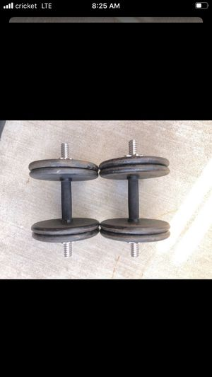 Dumbbells Weights 45lbs Adjustable for Sale in Surprise, AZ