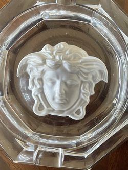 Versace Large Glass Ashtray for Sale in Gainesville,  VA