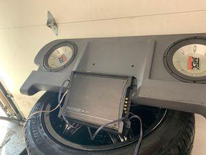 Audio system w/ kicker amp for Sale in Edmonds, WA