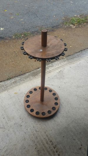 Genuine Wooden Fishing Pole Stand for Sale in St. Louis, MO