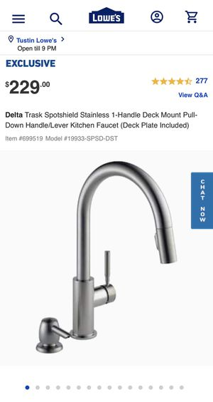 Kitchen faucet for Sale in Santa Ana, CA