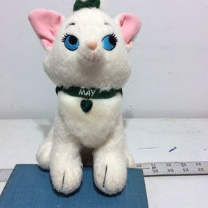 Disney Mae Marie Aristocat With Green Jewel Necklace For Month Of May Birthdays for Sale in West Dundee, IL
