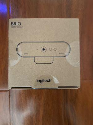 Logitech Brio 4k Ultra HD Pro Webcam for Sale in Midway City, CA