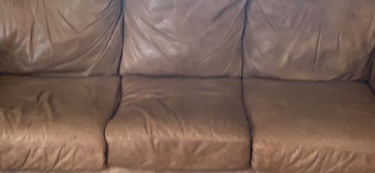 Leather Sofa And Chair for Sale in DuPont,  WA