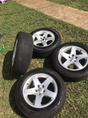 Rims with tires for Sale in Stone Mountain, GA
