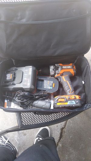 Rigid 18v drill for Sale in Bellflower, CA