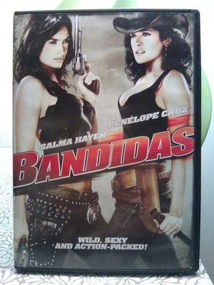 Dvd Bandidas Salma Hayek and Penélope Cruz for Sale in Fall River, MA
