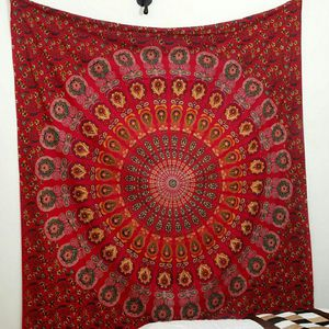 NEW Red Queen Size Handmade Mandala Boho Tapestry Save 50% Off for Sale in Raleigh, NC