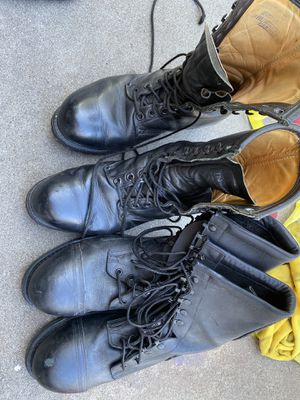 Work/navy boots for Sale in San Diego, CA