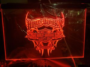 """New Customs 16x12"""" plexiglas led light up sign w 4ft cord & chain to hang for Sale in San Antonio, TX"""