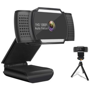 Brand New FHD Webcam 1080P with Microphone, Auto Focus USB Plug and Play 110-degree Wide Angle PC Laptop Desktop Web Camera for Online Teaching Live S for Sale in Las Vegas, NV