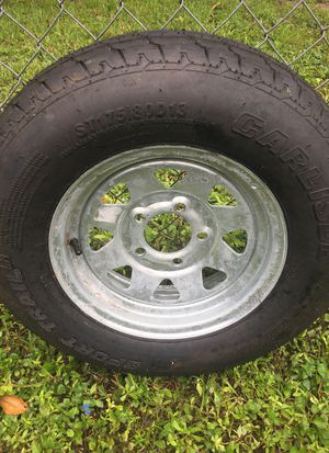 Sport trail trailer tire for Sale in North Fort Myers, FL