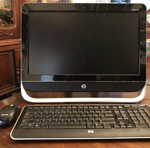 Computer...HP pavilion 20, all-in-one desktop computer for Sale in Fenton, MO