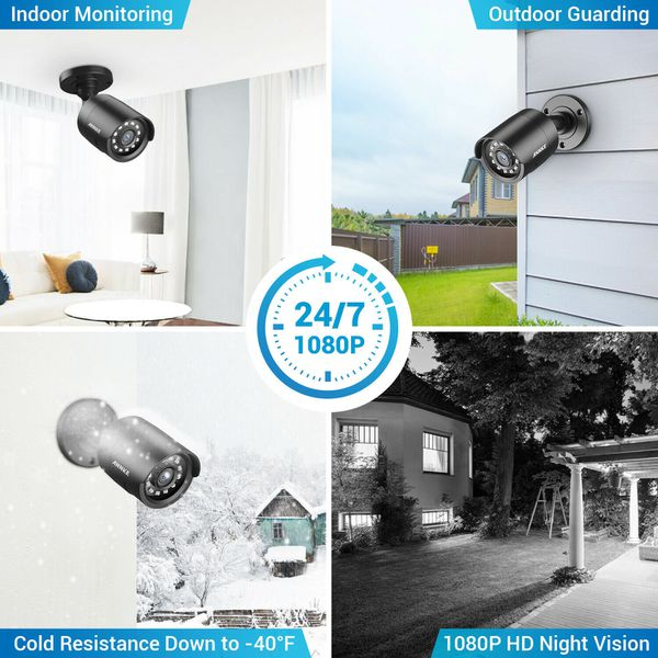 ANNKE 8CH Security Camera System