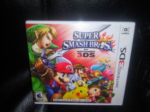 Nintendo 3DS Super Smash Bros NEW video game for Sale in San Diego, CA