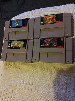 Super Nintendo games snes games (prices are in description.) All game tested.. for Sale in Los Angeles, CA