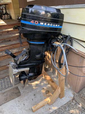 86 mercury 40HP for Sale in Salinas, CA