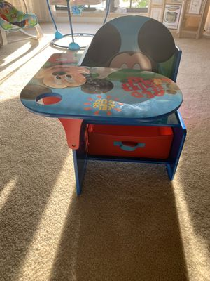 Mickey table with bottom drawer for Sale in Cape Coral, FL