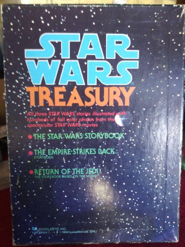 1983 Vintage Star Wars Treasury Storybooks