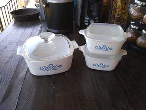 Vintage Corningware Cornflower Blue for Sale in Phoenix, AZ