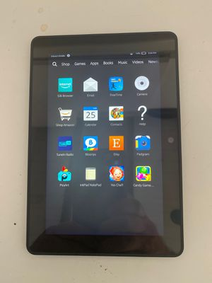Amazon Kindle Fire HDX 7'' -3rd Generation Wi-Fi Tablet 64GB - USED for Sale in Larksville, PA