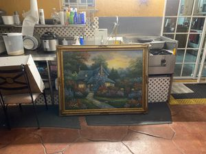 """Painting done by """"C.JAFFEY 55 inch by 43 inches for Sale in Miami Springs, FL"""