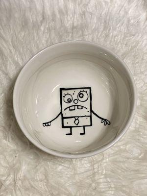Spongebob doodlebob bowl for Sale in Carson, CA