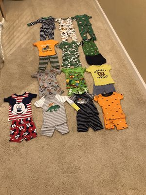 9 Month Baby Boy Pajamas (13) for Sale in Chula Vista, CA