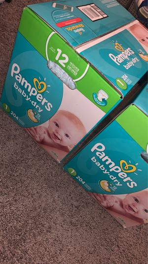 Pampers for Sale in Pacifica, CA