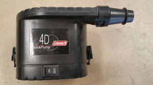 Coleman 4D Quickpump (Air Matresses/toys) for Sale in Haines City, FL