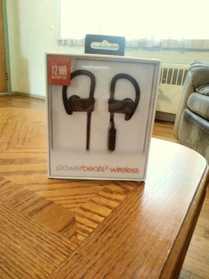Powerbeats wireless headphones for Sale in Kearny, NJ