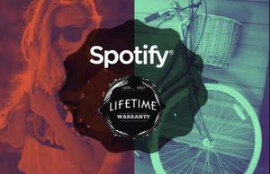 Lifetime warranty Spotify on your own acount for Sale in Edinburg, TX