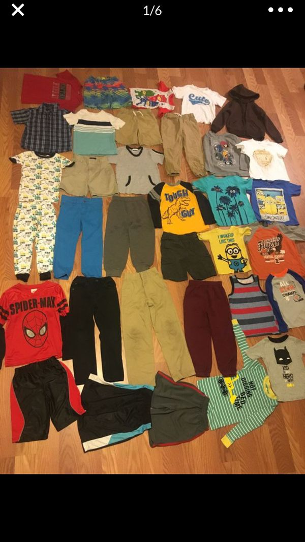 Boy's Clothes 5-6T 34 pieces