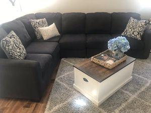 Ashley furniture dark grey sectional for Sale in Waddell, AZ